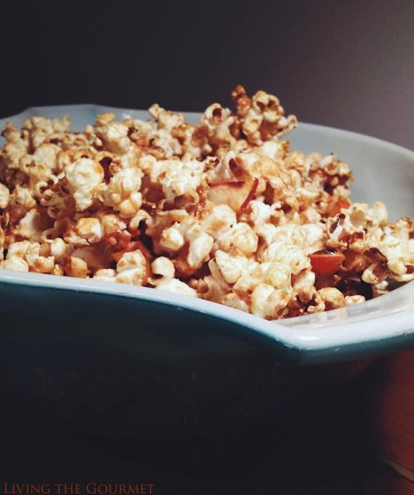 Caramel Candy Popcorn Recipe