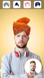 Punjabi Turbans Photo Editor - náhled