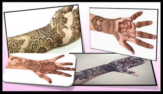 Karwa Chauth Mehndi Design - náhled