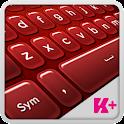 Клавиатура Plus Red icon