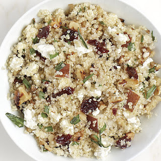 Quinoa Salad with Pears and Dried Cherries