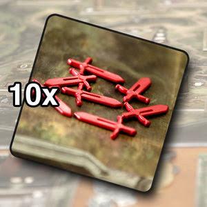 Sword Tokens (10)