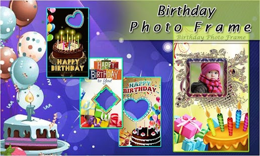 Birthday Wishes Photo Frame Maker - náhled