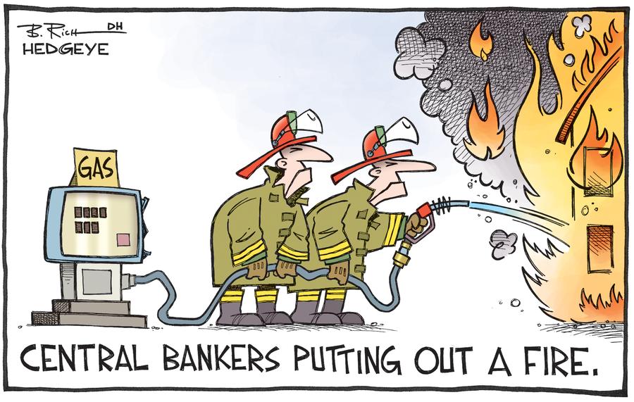 συνωμοσίες και εμπρησμοί κεντρικών τραπεζών, Conspiracies and arson of central banks.