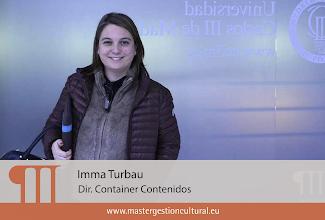 Photo: Imma Turbau (Módulo Industrias Creativas y Culturales)