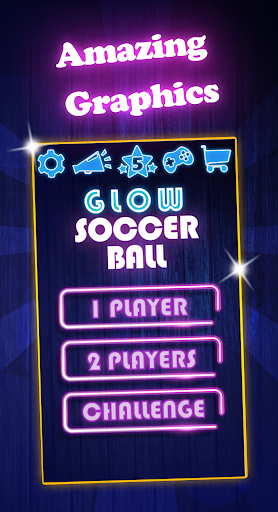 Glow Soccer Ball  screenshots 1