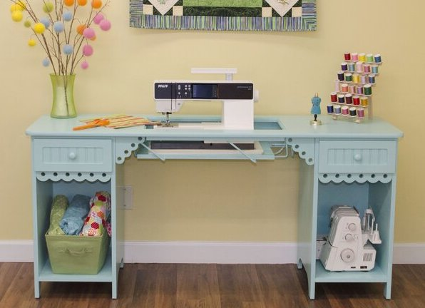 Olivia Gingerbread Sewing Table