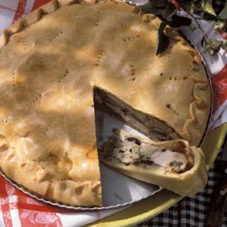 Savoury Meat Pastry Pie.