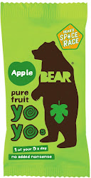 Bear Yoyo Pure Fruit Rolls - Apple, 20g