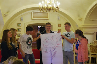 Photo: Přeshraniční workshop pro žáky v rámci česko-polského projektu Akcent@com v hotelu Dwór Dębowiec v Polsku (čtvrtek 13. a pátek 14. listopad 2014).