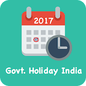 Govt. Holiday India 2017 - Public Holiday Calendar