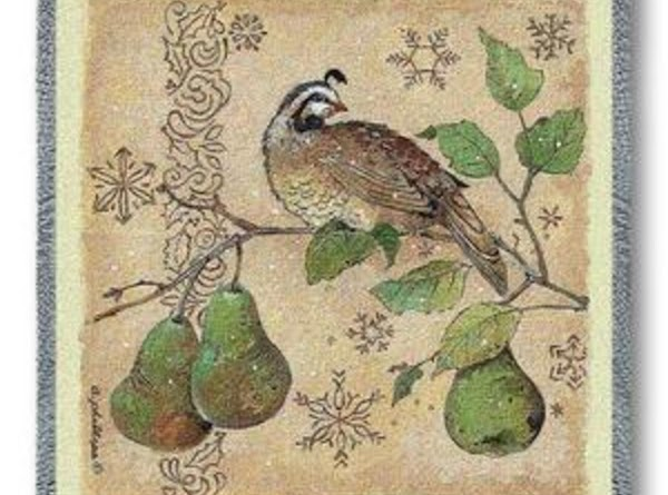 A Partridge In A Pear Tree = Jesus Christ, the Son of God (He...