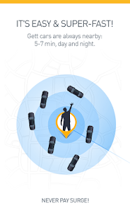 Gett (GetTaxi) - The Taxi App- screenshot thumbnail