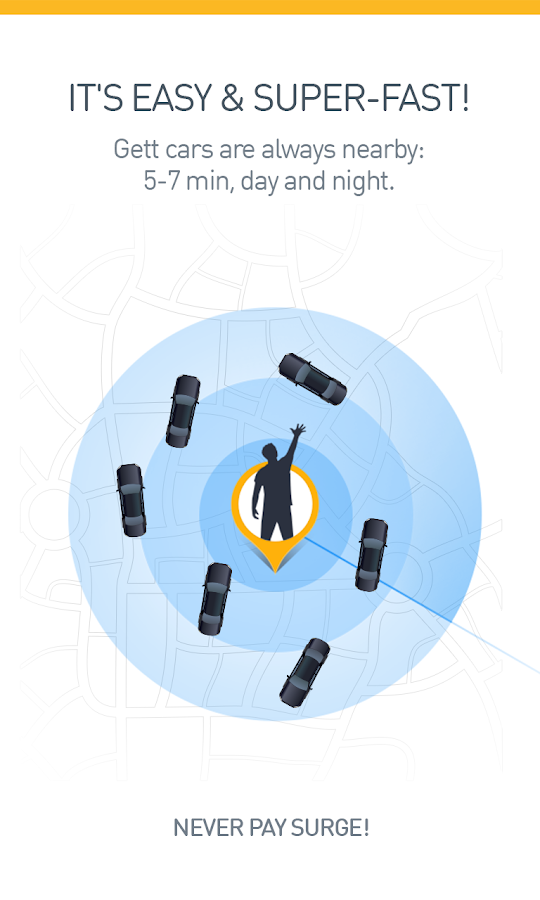 Gett (GetTaxi) - The Taxi App- screenshot