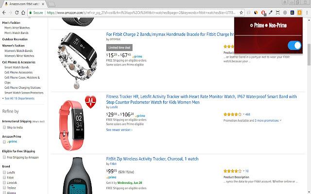 Amazon Prime Switch