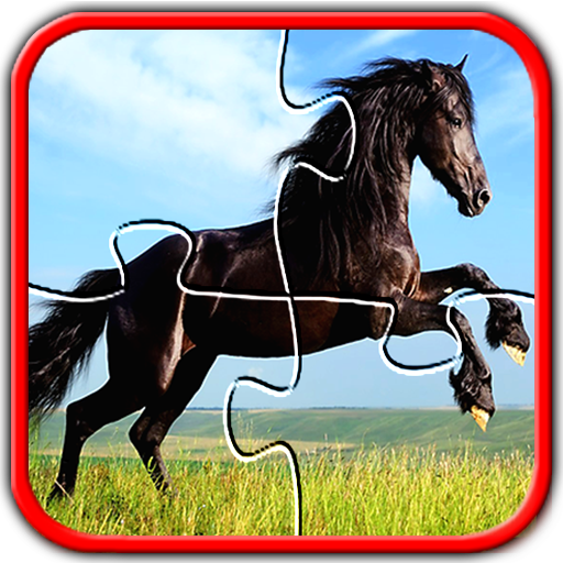 Horse Jigsaw Puzzles Brain Games For Kids FREE Android APK Download Free By Appgo