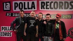 Los integrantes del grupo vasco en la presentación de su última gira.