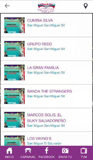 Carnaval de San Miguel screenshot