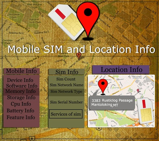 android Mobile,  SIM and Location Info Screenshot 7