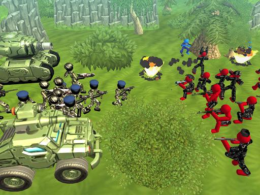 Stickman Tank Battle Simulator 1.06 screenshots 7