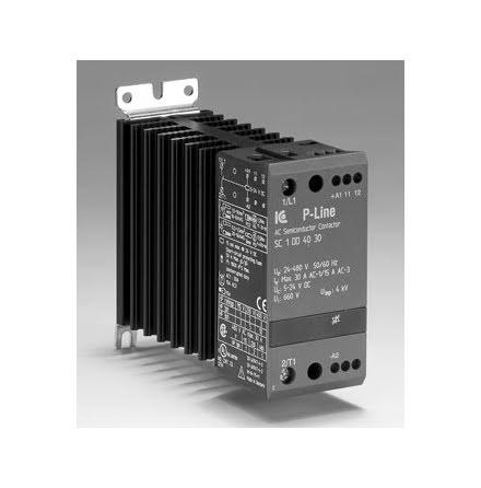 STATISK KONTAKTOR 3-POL. 24-230V AC/DC 10A, 6,9 KW