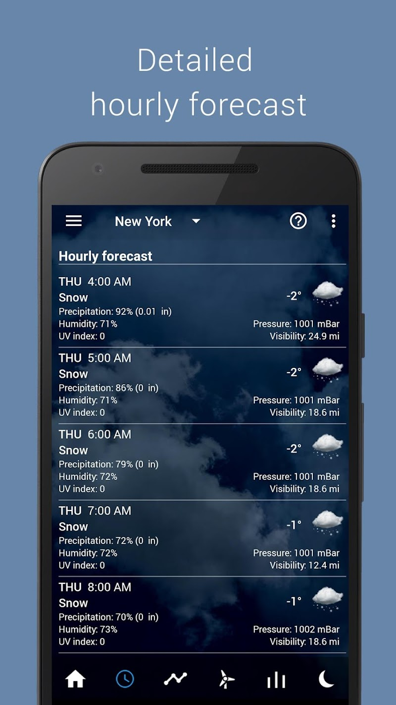 Transparent clock weather Pro Screenshot 19