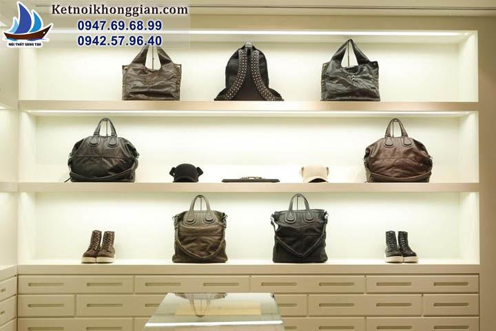 thiết kế cửa hàng thời trang nam tinh tế