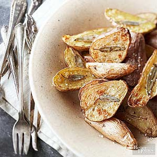 Sage-Embossed Fingerling Potatoes