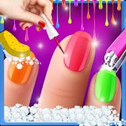 Virtual Nail Art Fashion Salon Games For Girls Apps On Google Play