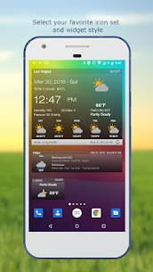 Weather & Clock Widget for Android Ad Free 4.1.3.3 MOD Apk Download 2