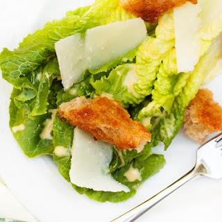 Homemade Caesar Salad