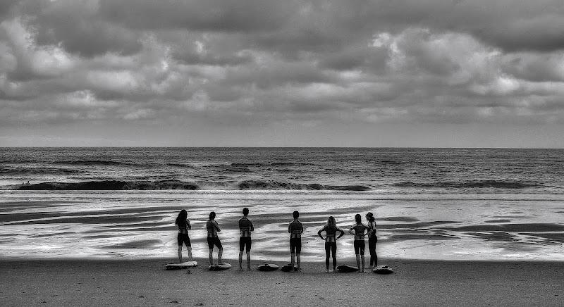 Contemplando il mare di Paolo Scabbia