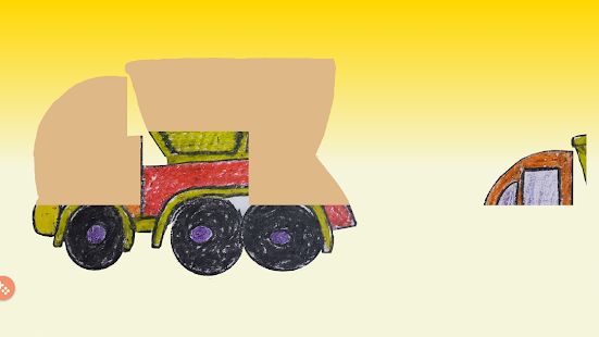 Puzzle for Kids. Vehicles - náhled