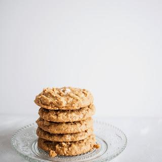 Gluten-Free Peanut Butter Cinnamon Cookies.