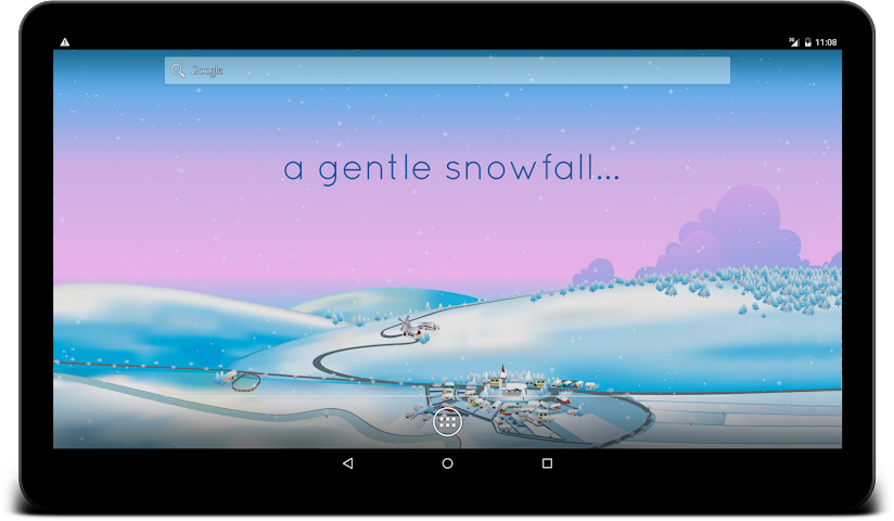 android Winter Live Wallpaper Screenshot 8