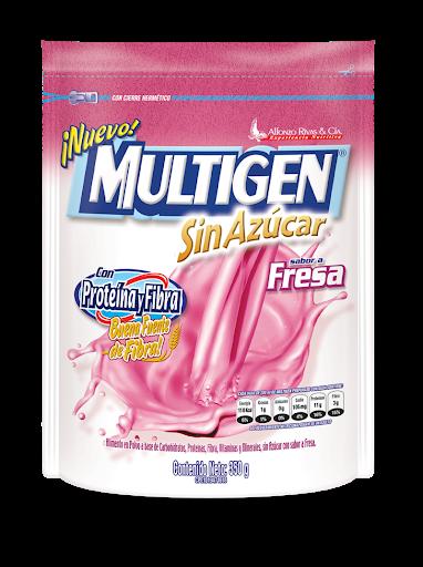 Multigen Sin Azucar  Alfonzo Rivas & Cia