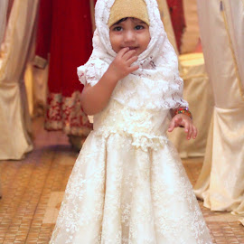 IMG_6816 by Ahsan  Niaz - Babies & Children Children Candids ( niceexpressions, weddingparty, cuteness, cutebaby, cute girl, portraitofgirl, smile, cute, portrait )