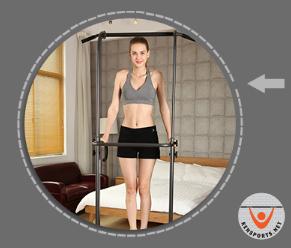 Ai cũng có thể tập luyện với xà đơn để có được thân hình chuẩn, sức khỏe tốt