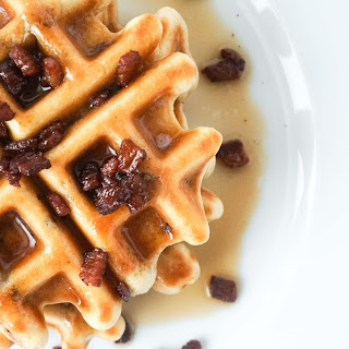 Bacon Waffles.
