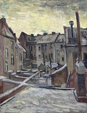 "Photo: Vincent Van Gogh, ""Antwerp nella neve"" (1885)"