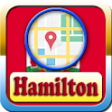 Hamilton City Maps And Direction icon