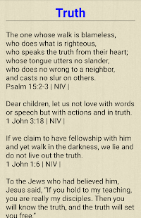Bible verses by topic for PC-Windows 7,8,10 and Mac apk screenshot 3