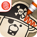 Pirate Scribblebeard - Draw icon