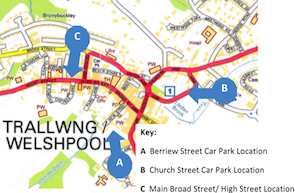 Where do you want Welshpool's new bus station located?