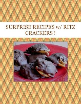 SURPRISE RECIPES  w/ RITZ CRACKERS !