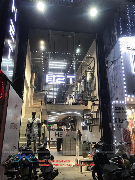 thi cong shop thoi trang dep