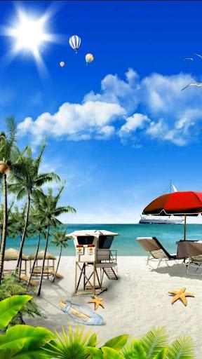 Summer Beach Live Wallpaper