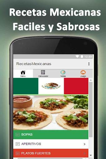 玩免費遊戲APP|下載Recetas Mexicanas Fáciles app不用錢|硬是要APP