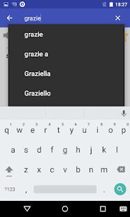 Italian Dictionary- screenshot thumbnail