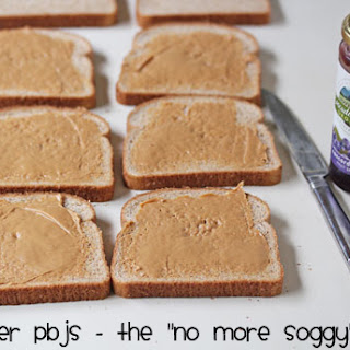 Freezer Peanut Butter and Jelly Sandwiches.